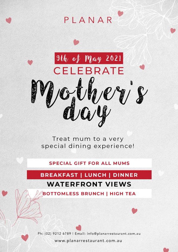 Celebrate Mother's Day At Planar Restaurant
