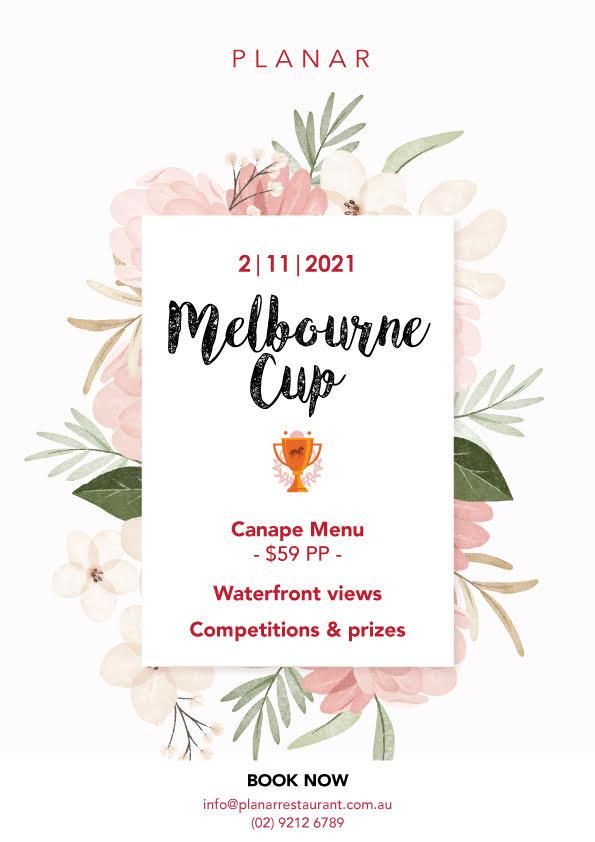 Melbourne Cup Lunch at Planar Restaurant Darling Harbour